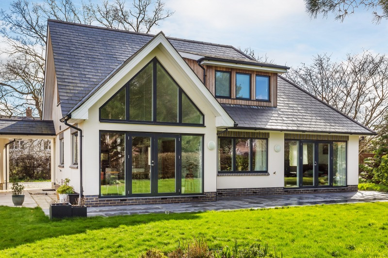 Contemporary Chalet Bungalow