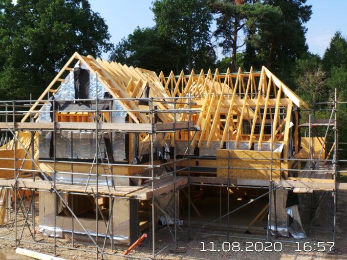 Timber Frame House