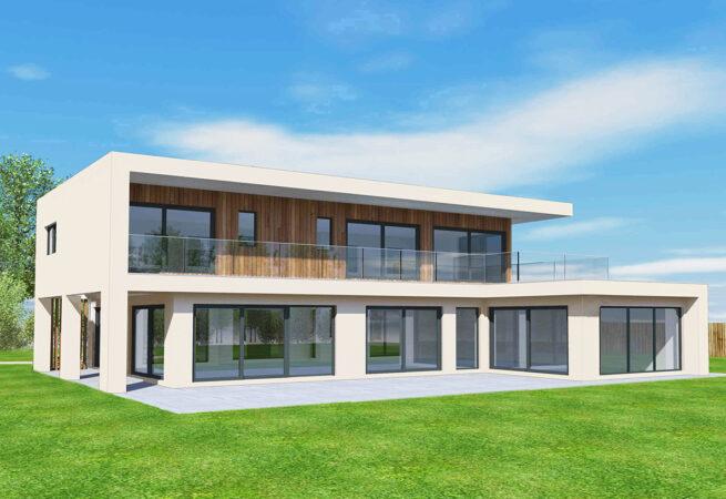 Render Cladding Home Design