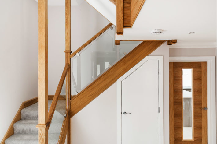 Timber Glass Staircase
