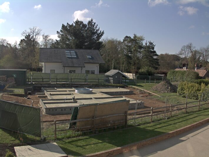 Groundworks Complete