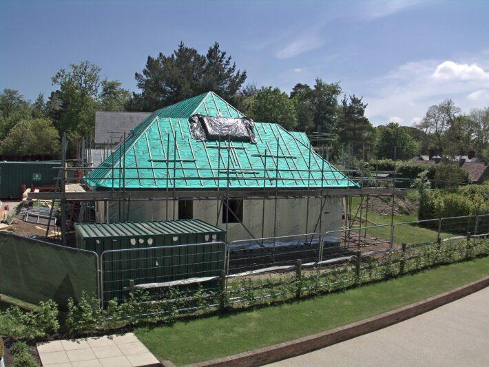 Roof Progress