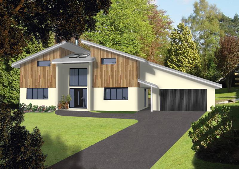 scandia hus the cedars timber frame contemporary design. Black Bedroom Furniture Sets. Home Design Ideas