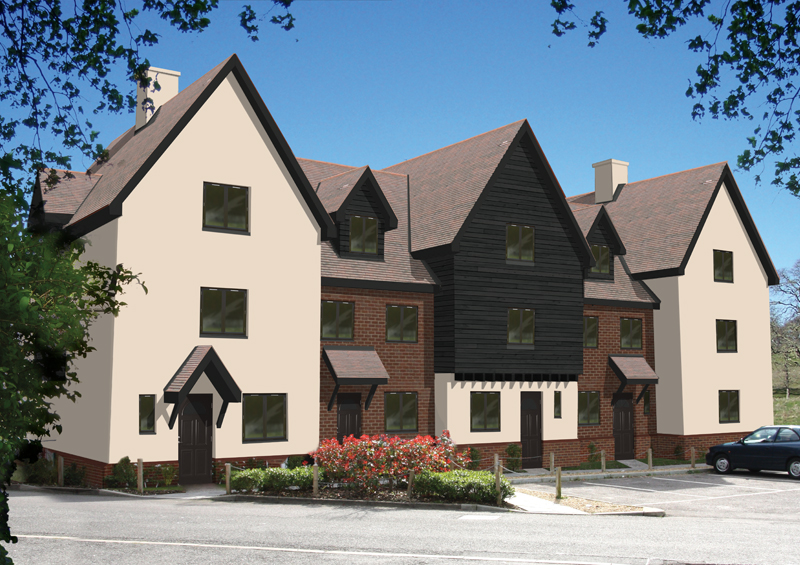 Colchester development - Town Houses