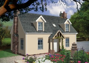 Scandia hus the croft timber frame traditional design for Traditional house designs uk