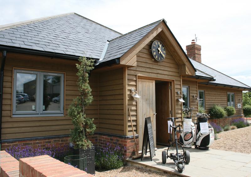 the cuckfield golf club timber framed home designs. Black Bedroom Furniture Sets. Home Design Ideas
