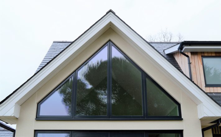 Gable Glazing