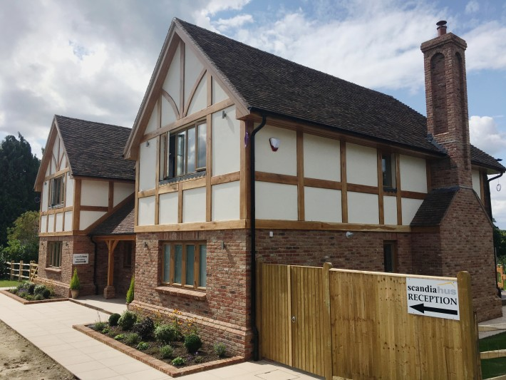 Traditional Style Self Build Timber Frame Show Homes