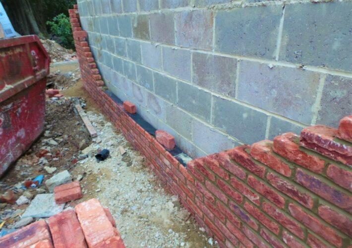 Garage Brickwork