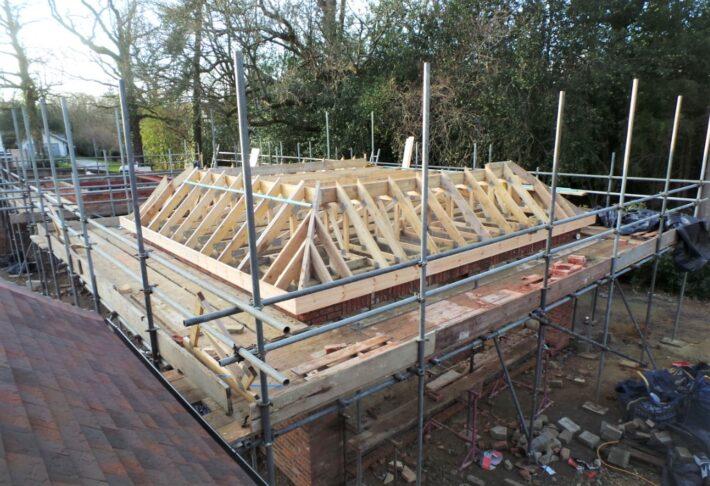 Garage Roof Structure