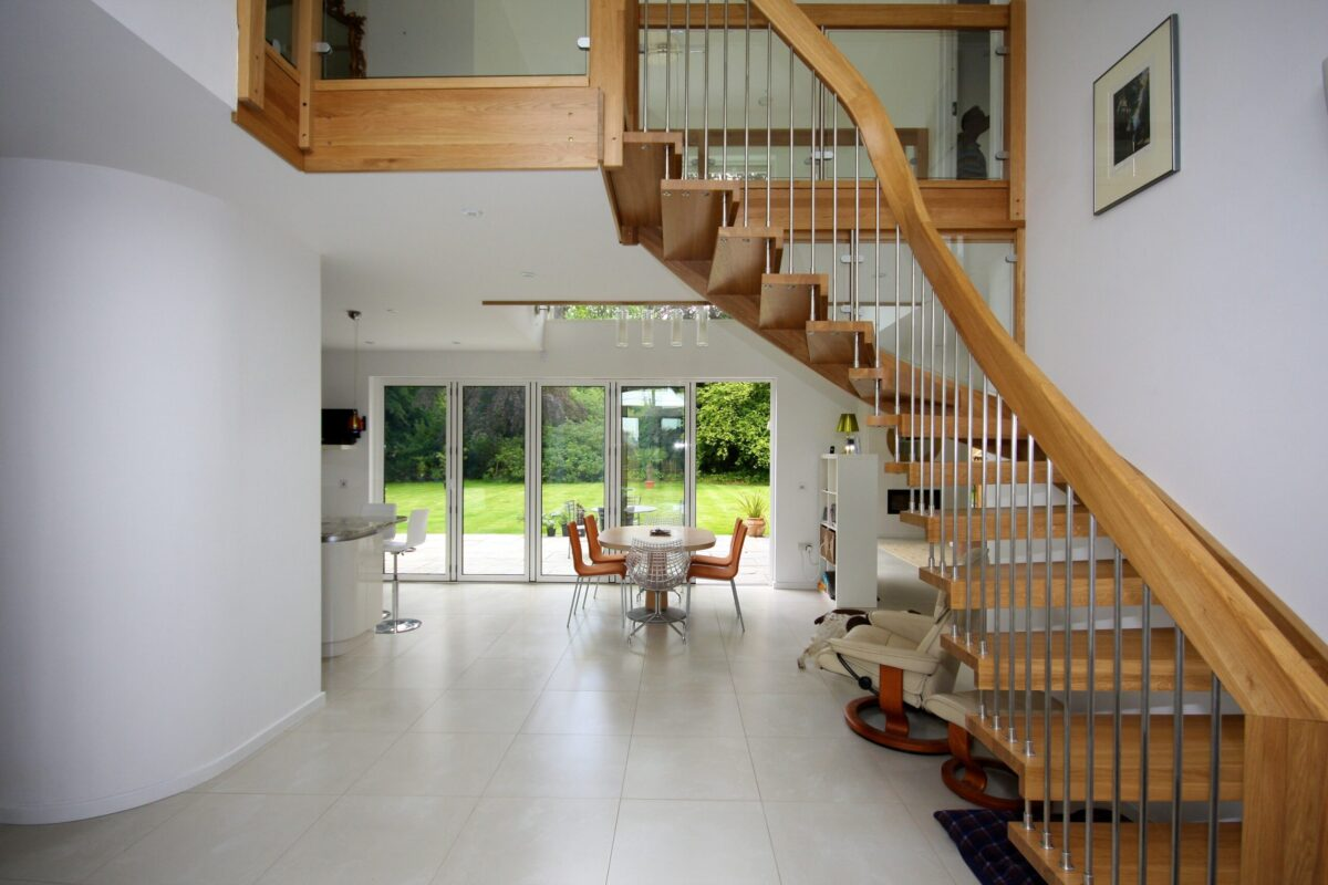Contemporary Timber Staircase