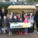 Local school wins log store
