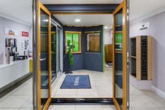 Window and Doors display