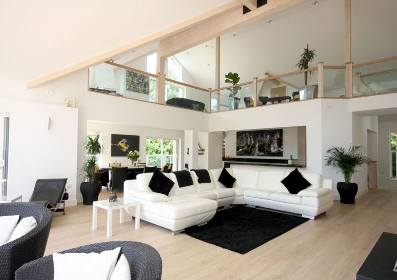 Double Height Living Area