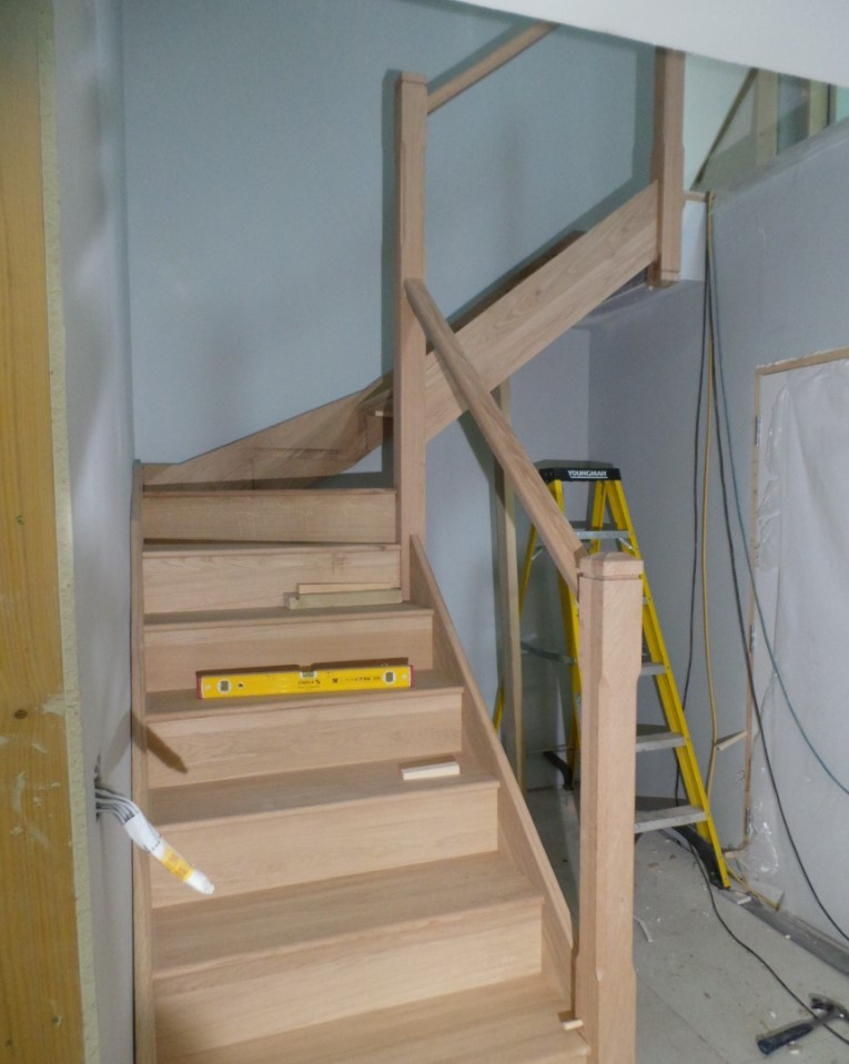 Timber Staircase Construction