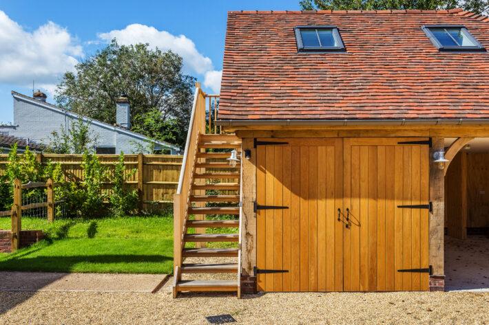 Timber Garage Design