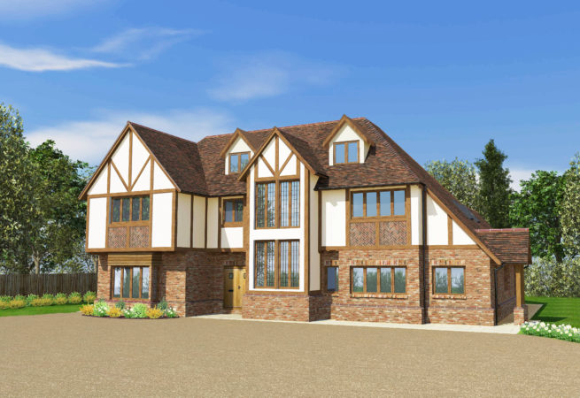 traditional style self build