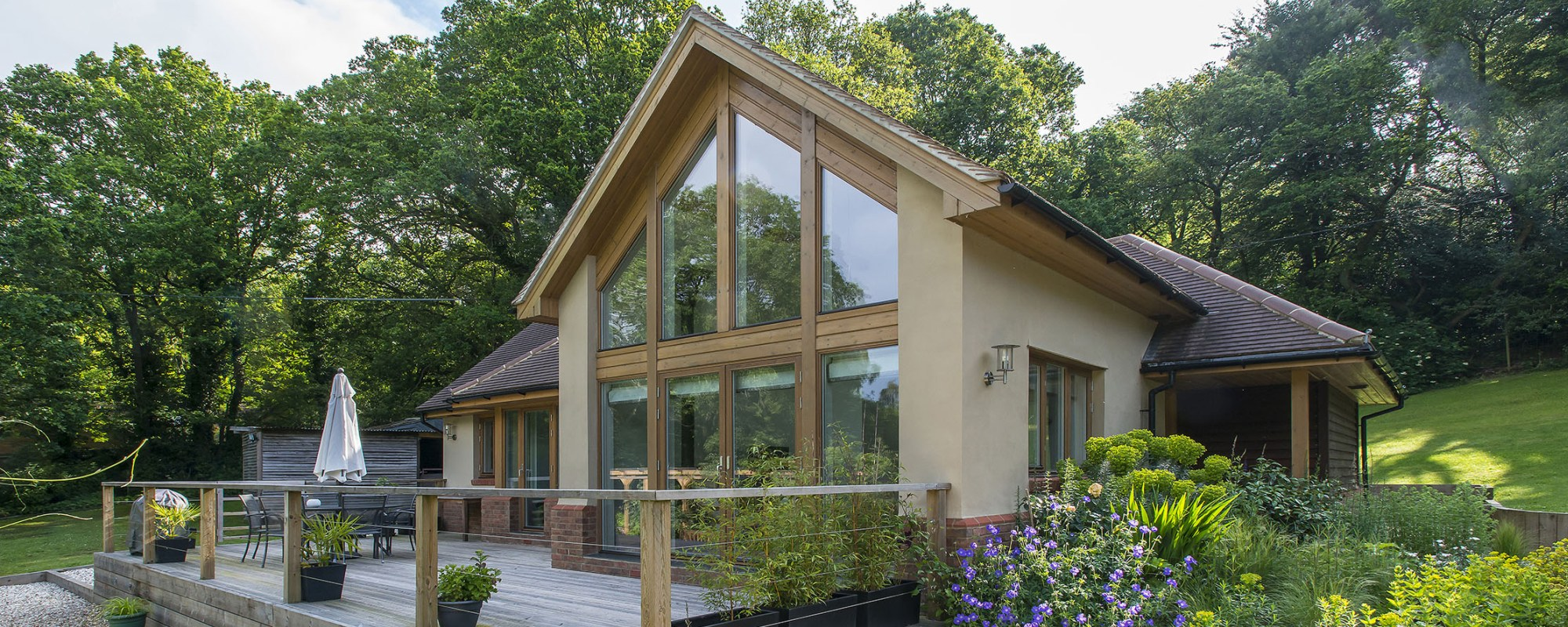 Timber frame self build homes from scandia hus for Timber frame bungalow