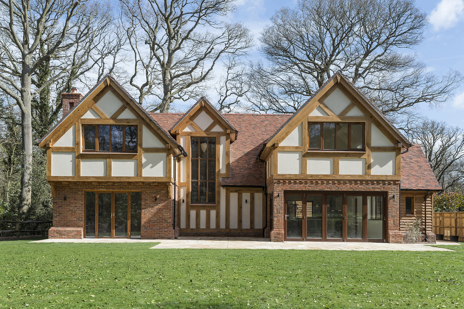 The langford timber framed home designs scandia hus for Oak framed house designs