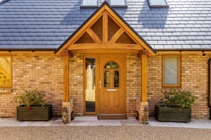 Oak Porch Entrance