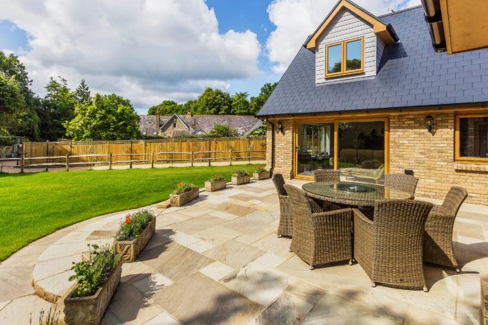 Building Own Home in Garden