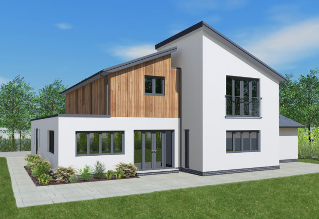self build house design