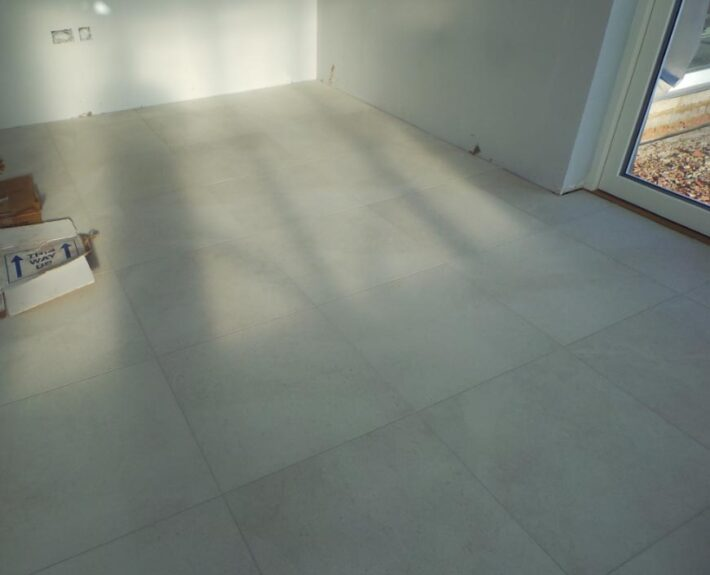 Package Home Tiles Laid