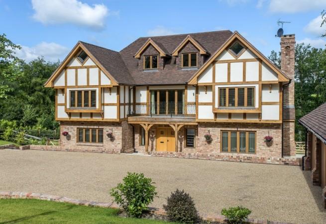 Scandia-Hus Westbrook design front elevation
