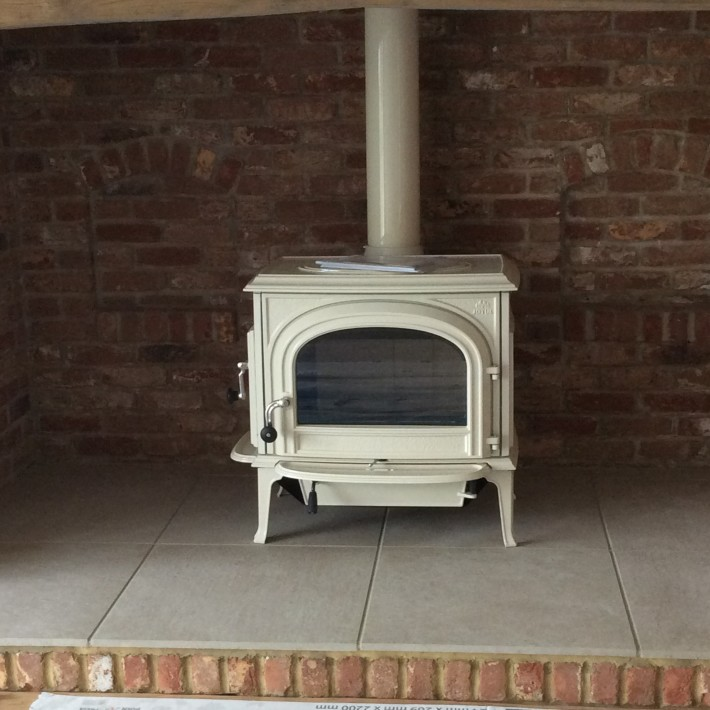 Woodburner Inglenook Fireplace