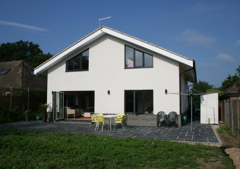 scandia hus summerview timber frame chalet design. Black Bedroom Furniture Sets. Home Design Ideas