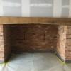 fireplace beam