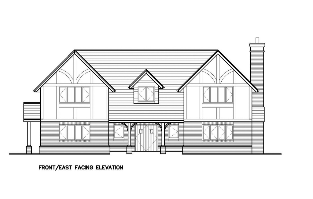 House Front Elevation East Facing : Design hub our show house office external